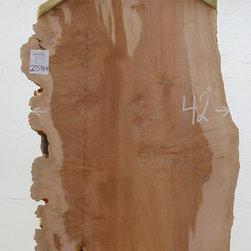 Curly Big Leaf Maple Wood Slab w/ Burl 2259h4 - Big Leaf Maple