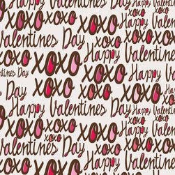 Murals Your Way - Valentine's Day Pattern Wall Art - Painted by Valentina Ramos, Valentine's Day Pattern wall mural from Murals Your Way will add a distinctive touch to any room