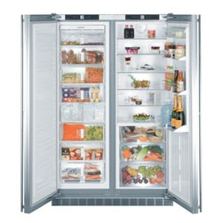 """Liebherr - SBS 24I3 59"""" 31.0 cu. ft. Side-By-Side Refrigerator  Intelligence Sensor Technol - Liebherr is the worldwide leader in premium refrigeration With over 50 years of experience in cooling the German manufacturer sets the pace with continuous product innovation and a proactive approach to responsible manufacturing"""