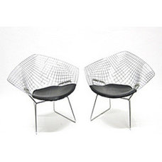 Originals And Limited Editions Wire Diamond Chairs (Set of 2)
