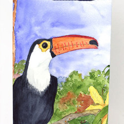Caroline's Treasures - Bird - Toucan Michelob Ultra Koozies for Slim Cans KR9003MUK - Bird - Toucan Michelob Ultra Koozies for slim cans KR9003MUK Fits 12 oz. slim cans for Michelob Ultra, Starbucks Refreshers, Heineken Light, Bud Lite Lime 12 oz., Dry Soda, Coors, Resin, Vitaminwater Energy, and Perrier Cans. Great collapsible koozie. Great to keep track of your beverage and add a bit of flair to a gathering. These are in full color artwork and washable in the washing machine. Design will not come off.