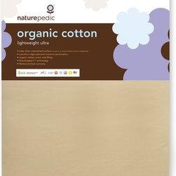 Naturepedic Organic Cotton Lightweight Ultra 2-stage Crib Mattress - Naturepedic Organic Cotton Lightweight Ultra 2-stage Crib Mattress