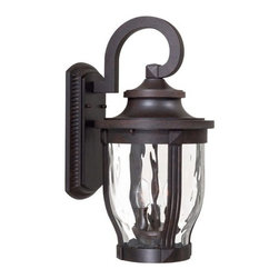 The Great Outdoors - The Great Outdoors GO 8763 3 Light Outdoor Wall Sconce from the Merrimack Collec - Three Light Outdoor Wall Sconce from the Merrimack CollectionFeatures: