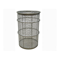 Outdoor Trash Receptacle -