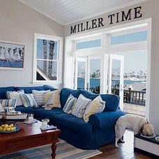 Durable Beach Living Room < 10 Beautiful Beach Cottages - Coastal Living