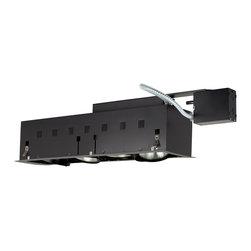 Jesco Lighting - Jesco MGRP38-4SB 4-Light Double Gimbal Linear Recessed Fixture Line Voltage - Jesco MGRP38-4SB 4-Light Double Gimbal Linear Recessed Fixture Line Voltage