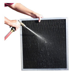 BoAir - BoAir 5-Stage Aluminum Electrostatic Furnace Filter - Washable, Permanent, 20x20 - ** 5-Stage Filtration