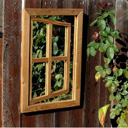 Centurion Illusion Garden Mirror - Adds a new dimension of space and light to your outdoor area