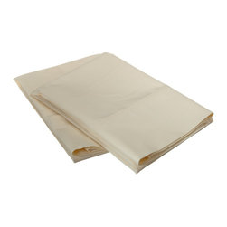 Cotton Rich 600 Thread Count King Pillowcase Set, Ivory - Our 600 Thread Count Cotton Rich Pillowcase set is a superior quality blend of 55% Cotton and 45% Polyester making these duvets soft, wrinkle resistant, and easy to care for. Set includes Two Pillowcases 20x40 each.