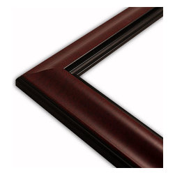The Frame Guys - Standard Mahogany Picture Frame-Solid Wood, 10x10 - *Standard Mahogany Picture Frame-Solid Wood, 10x10