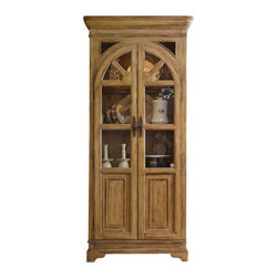 Hooker Furniture - Display Cabinet - This elegant display cabinet is an excellent way to show off your finest collectables. You can adjust the shelves to accommodate objects of any height and then show them off with the internal lighting.