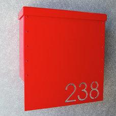 Contemporary Mailboxes by Moda Industria