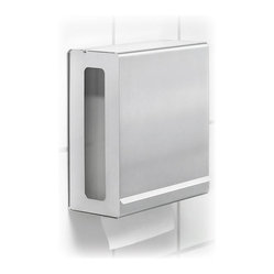 Blomus - Nexio Paper Towel Dispenser - Cleaner than your average hand towel, this paper towel dispenser quietly hangs around waiting to be of assistance to you in the garage, kitchen, bathroom, workshop, garden area or any place where dirty hands congregate.