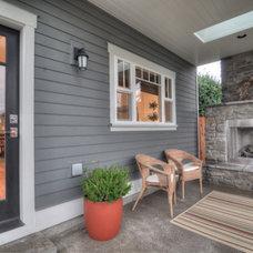 Traditional Porch by TTM Development Company