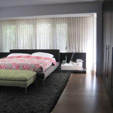 Modern Bedroom by schristen.com