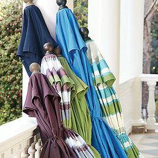 Contemporary Outdoor Umbrellas by Grandin Road