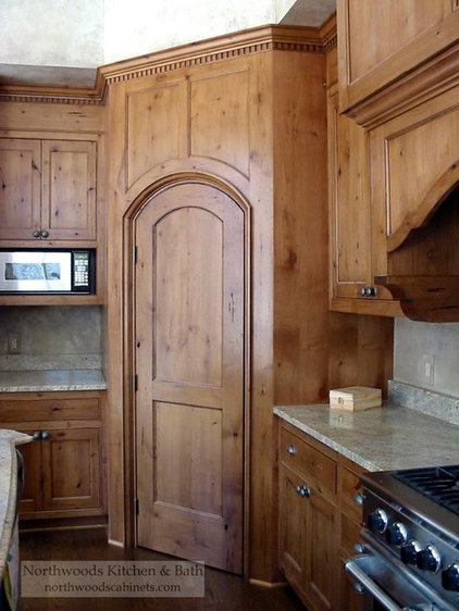 Traditional Kitchen Cabinetry by Northwoods Kitchen and Bath