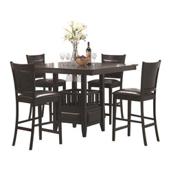 Coaster Furniture Jaden 5 Pc Counter Height Dining Set