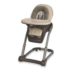 Graco - Graco Blossom 4- in -1 High Chair Seating Cushion System in Astoria - This 4-in-1 modular seating system is designed to adjust to your growing child's seating needs and to accommodate more than one child in your family.