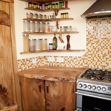 Rustic Kitchen by Mud and Wood