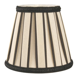"""""""Royal Designs, Inc"""" - English Pleated Chandelier Lampshade - """"This shade is a part of Royal Designs, Inc. Timeless Chandelier Shade Collection and is perfect for anyone who is looking for a simple yet stunning lampshade. Royal Designs has been in the lampshade business since 1993 with their multiple shade lines that exemplify handcrafted quality and value."""