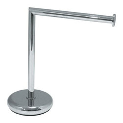 StilHaus - Free Standing Brass Towel Stand - Imported from and manufactured in Italy by Stilhaus, this upscale free standing towel rack will compliment modern bathrooms. Available in chrome, satin nickel, gold, or chrome/gold and made in very high quality brass, this free standing towel bar is part of the Stilhaus Fluyd collection. Free standing towel rack for a upscale bath. High-End free standing towel bar. Very high quality brass, coated in chrome, satin nickel, gold, or chrome/gold. Made by Stilhaus in Italy.
