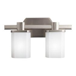 "Kichler - Kichler 5052NI Lege 15.25"" Wide 2-Bulb Bathroom Lighting Fixture - Product Features:"