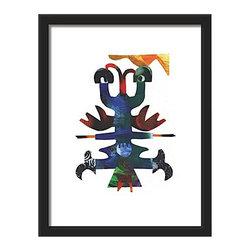Eye Rouge fantasy animal art print for home, office or business decor - Eye Rouge