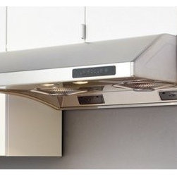 Zephyr 30W in. Hurricane Under Cabinet Range Hood - Complete your modern kitchen set with the Zephyr 30W in. Hurricane Under Cabinet Range Hood and its ultra smart looks and design. Since it comes in your choice of available finish, you can trust that this range hood will perfectly complement your current decor. The 3-speed centrifugal fans automatically separate grease from air to be easily cleaned from the residue cups. While you're enjoying your meal, this hood can continue to clear air and shut off thanks to timed delay-off function. Even with all of this power it operates whisper quiet to your delight.About ZephyrSince 1997 Zephyr has remained true to their vision of delivering the unexpected. Founder Alex Siow embraced the idea that a kitchen hood could do much more than vent air, it could be as distinctive in its design as in its performance. Zephyr was first to recognize the demand for powerful, professional-grade hoods for the home that were also beautiful. They answered the call with their Power Series of high CFM range hoods that put air quality concerns to rest with quiet efficiency. Zephyr raised the bar with self-cleaning, filter-free technologies. Their solid reputation for well-construction, high-powered range hoods is matched by their style and design. Fashion-forward and inspired, their lines of range hoods include original works from renowned designers Robert Brunner, Fu-Tung Cheng, and David Lewis.