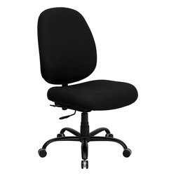 Flash Furniture - Flash Furniture Hercules Series 400 lb. Capacity Big and Tall Office Chair - This chair has been tested to hold up to 400 lbs.! Not only will this chair hold the above average person, but it is amazingly comfortable. Chair will appeal for users of all heights and weights because of its comfort and sturdy construction. Chair provides a number of adjustable mechanisms so users can achieve their custom fit.