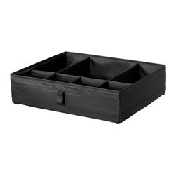 Sarah Fager - SKUBB Box with compartments - Box with compartments, black