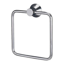 Richard Clack - SÄVERN Towel hanger - Towel hanger, chrome plated