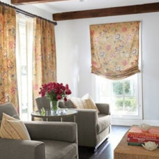 Traditional Curtains by MIchelle Bower, a Smith & Noble In-Home Designer
