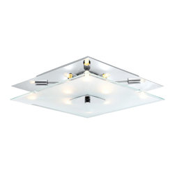 Eglo - Eglo 90692A Genua 1 Modern / Contemporary Wall / Ceiling Light - Eglo 90692A Genua 1 Modern / Contemporary Wall / Ceiling Light