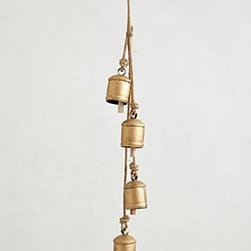 Anthropologie - Acreage Bell Garland - *Intended for indoor use