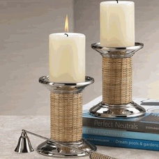 Traditional Candles And Candleholders by Organize