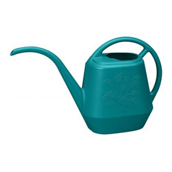 Bloem - Bloem 144oz. Aqua Rite Watering Can Sea Struck JW4132, 6 pack - Perfect for indoor plants
