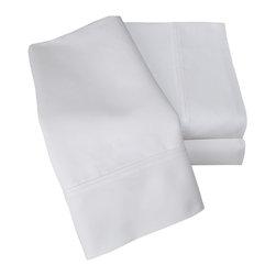 1000 Thread Count Cotton Rich Cal. King White Sheet Set - Cotton Rich 1000 Thread Count California King White Sheet Set