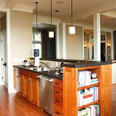 Traditional Kitchen Islands And Kitchen Carts by Moceri Construction