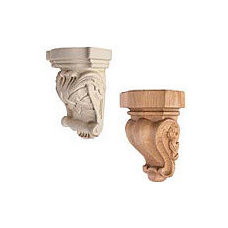 Carved Corbels - The Hardware Hut