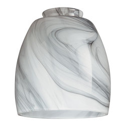 "Westinghouse Lighting - Westinghouse Lighting 2 1/4 Charcoal Swirl Lamp Shade (4-Pack) (8140900) - Westinghouse Lighting 8140900 2 1/4"" Charcoal Swirl Lamp Shade (4 Pack)"