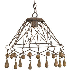 Eclectic Pendant Lighting by Cottage & Bungalow