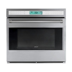 "Wolf 30"" Built-In E Series Oven - The Wolf E series built-in oven features dual convection fans for even cooking and ten cooking modes to deliver precise results."