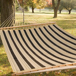 Twin Oaks Woodland Quilted Sunbrella Fabric Hammock - You need a hammock to be in true vacation mode. I love ones with quilted fabric for the maximum in relaxation and vacation comfort.