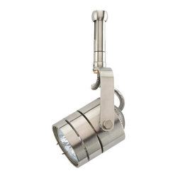"""Sea Gull Lighting - Sea Gull Lighting 95154 Single Light Round back Rail Adapter Track Head with 1"""" - Single Light Round back Rail Adapter Track Head with 1"""" Stem from the RXt CollectionDetails:"""