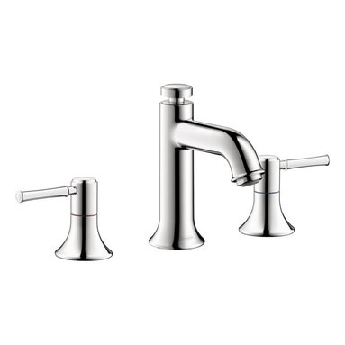 Hansgrohe - Hansgrohe Talis C Wide Spread Bathroom Faucet, Polished Chrome - Solid Brass