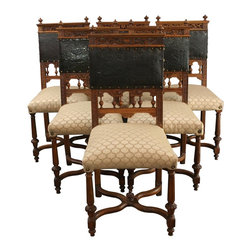 EuroLux Home - Antique Dining Chairs Renaissance French - Product Details