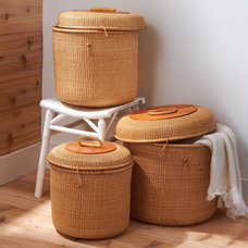 Contemporary Baskets by Burke Decor