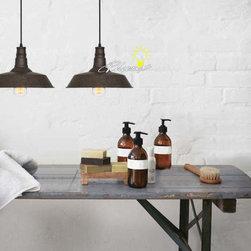 Antique copper Pendant Lighting in Baking Finish -