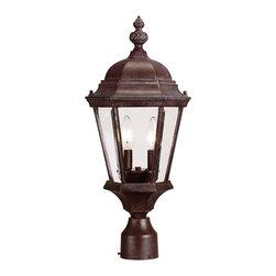 Savoy House - Savoy House 5-1305-40 Wakefield Post Lantern - Savoy House 5-1305-40 Wakefield Post Lantern